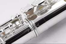 Flute New High Quality Brand Flute YFL-211SL Silver Plated 16 Closed Holes flute C Key Flute with Case and Accessories