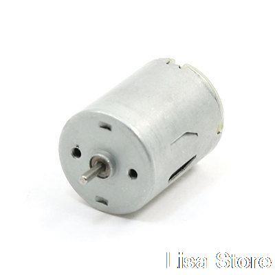 2mm Dia Shaft Electronic Toy Mini Motor 3V DC 15000RPM for Guitar