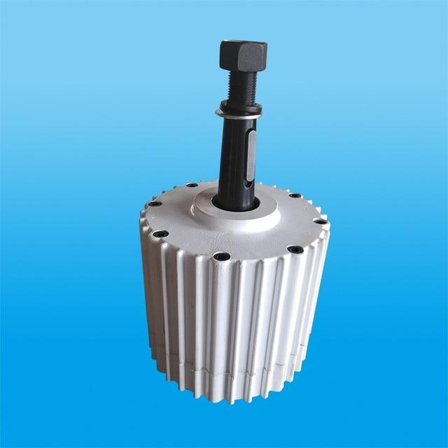72b1f84a595 2KW 48 v 96 v Brushless Alternador para gerador de energia eólica de Ímã  Permanente motor