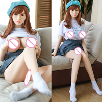 Hanidoll 158/165/168cm silikone Sex Dolls For Men Adult Toy Girl Friend Realistic Love Doll Mouth Vagina real dolls Love Doll