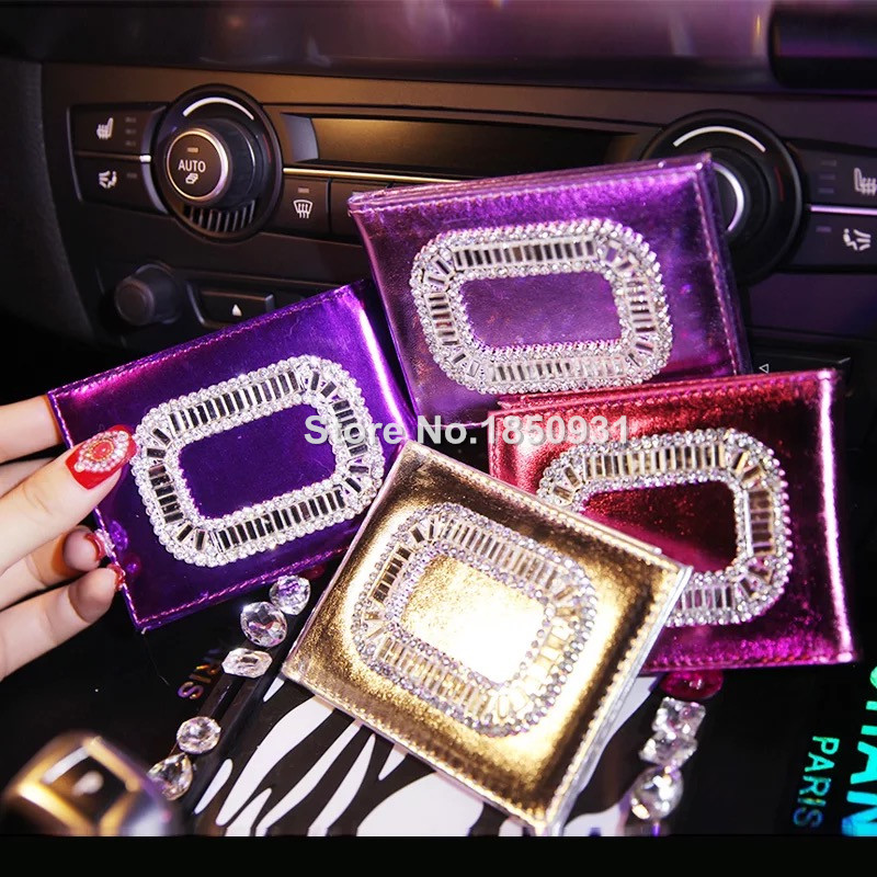 Holder License Rhinestone Plate