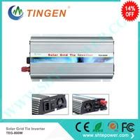 New product solar inverter for on grid tie invertor convert DC 10.8 28V to 110V 220V AC output MPPT 800W