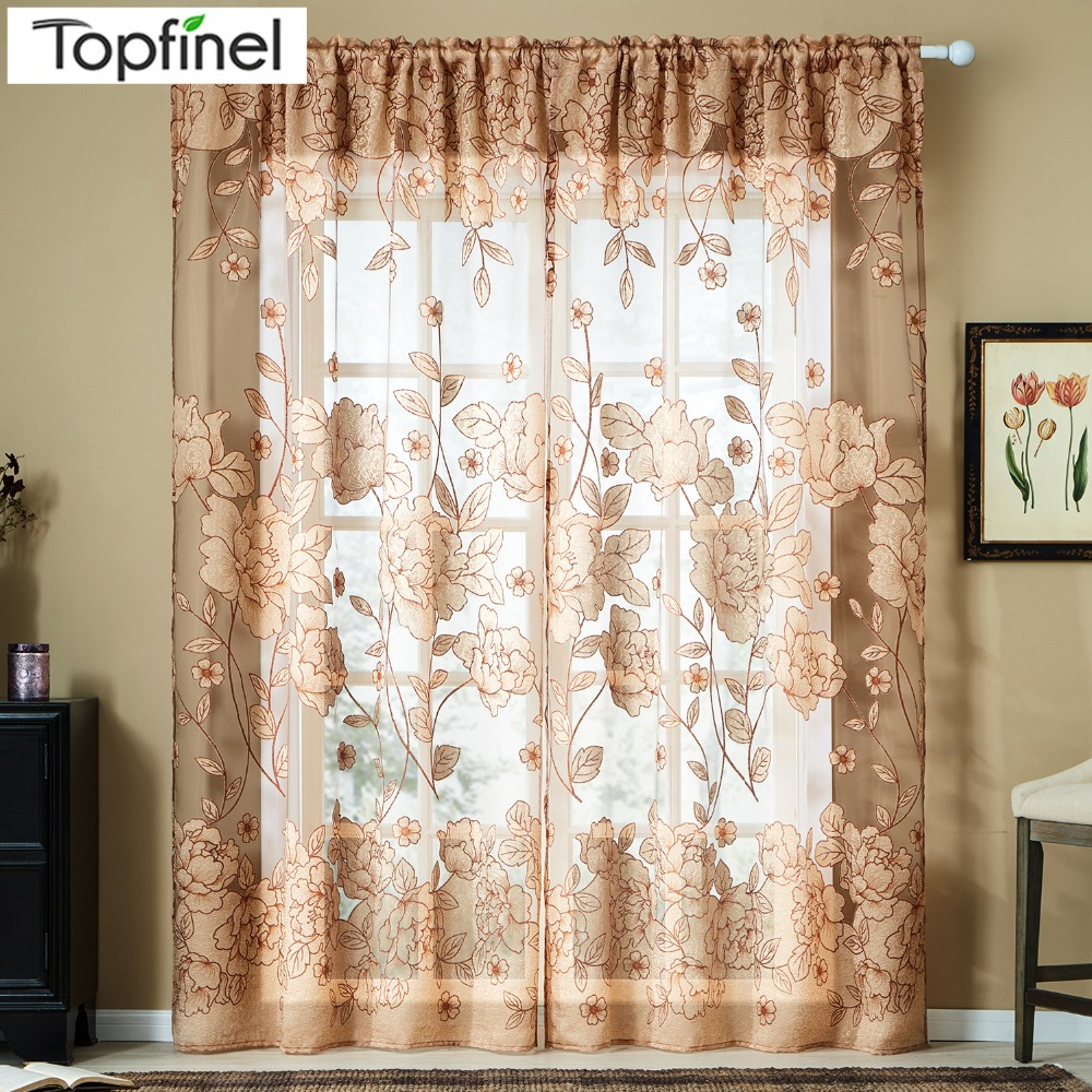 1pcs Half Curtain Floral Embroidery Window Curtain For Home Kitchen Cafe Panel Style Curtain Red Blue Plaid Modern Window Drapes At Any Cost Window Treatments Home Textile