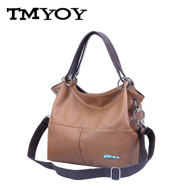 TMYOY  Women Handbag Special Of PU Leather bags women messenger bag bolsa Splice grafting Vintage Shoulder Crossbody Bags B1005