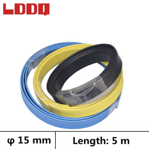 LDDQ 5m Shrinkable tube with glue Dia 15mm Heat shrink tubing Waterproof Wire wrap gaine thermo termo retractil Best Promotion!