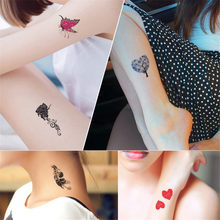 30pcs Sheet Temporary Metallic Tattoo Gold Silver Flash Tattoos Inspired Gold Silver Tatoo Women Henna Flower Taty Design Tatto(China)