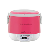 220V 3 Cups Mini Digital Rice Cooker Lunch Box Steamer Microwave Kitchen Appliance Smart Rice Cookers