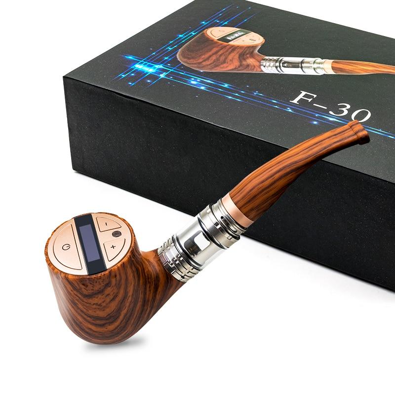 Sigaretta elettronica Kit E tubo EWINVAPE ePipe F30 vape 3 ml atomizzatore 30 w potenza regolabile in legno VS epipe 618 Kamry K1000 più