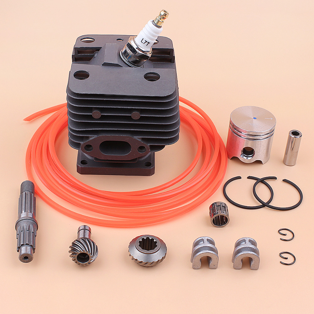 US $38 77 |35mm Cylinder Piston Gearbox Rebuild Kit For STIHL FS250 FS200  FS120 Brushcutter Engine Motor Rebuild Parts 3M Trimmer Line-in Lawn Mower