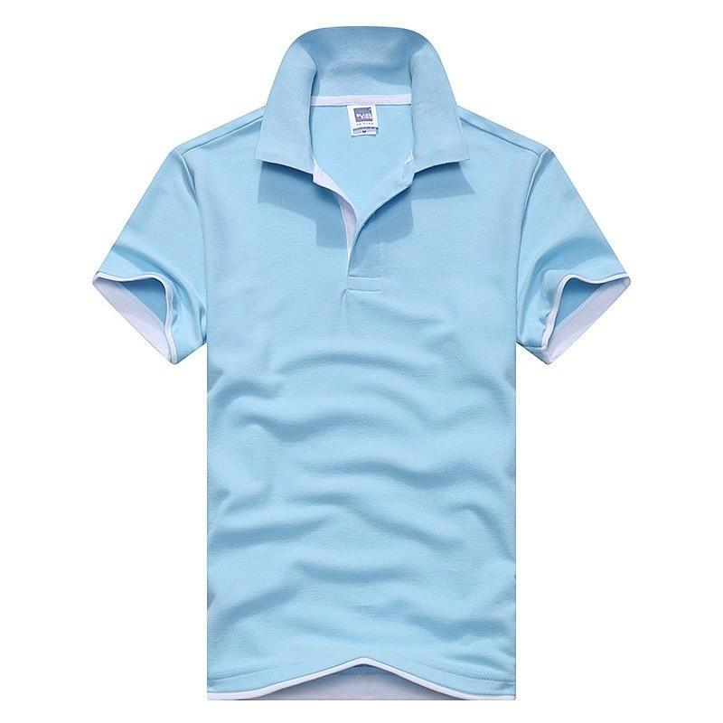 New 2017 Mens Brand   Polo   Shirt Men Designer   Polo   Mens Cotton Short Sleeve Shirt Brand jerseys golftennis