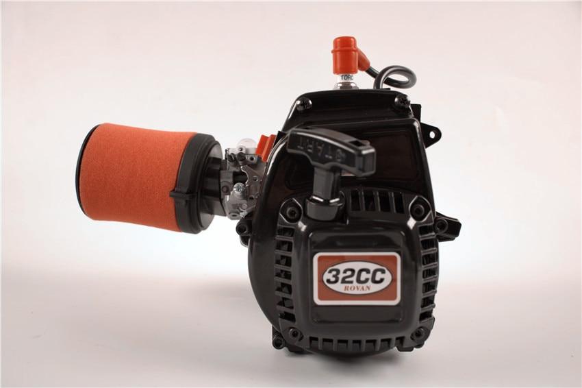 Puissant 4 boulons 32cc 2 temps moteur pour 1:5 HPI KM ROVAN LT BAJA 5B 5 T 5SC LOSI 5IVE-T