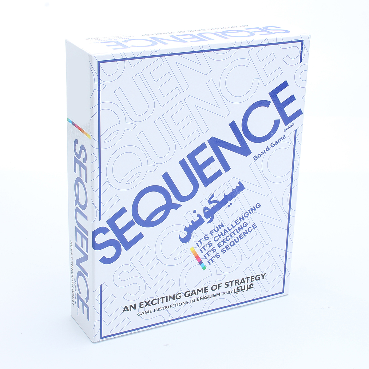 Sequence Card Game Challenge Strategy Board Games Funny Entertainment Board Game Friend Family Party Fun Playing Desktop CardsSequence Card Game Challenge Strategy Board Games Funny Entertainment Board Game Friend Family Party Fun Playing Desktop Cards