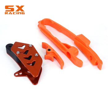Chain Slider Swingarm Guide Protector Set For KTM SX SXF 125 150 200 250 350 450 525 2011 2012 2013 2014 2015  SX SXF 125-525