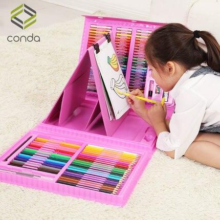 Coffret cadeau pour enfants peinture ensemble aquarelle brosse art fournitures