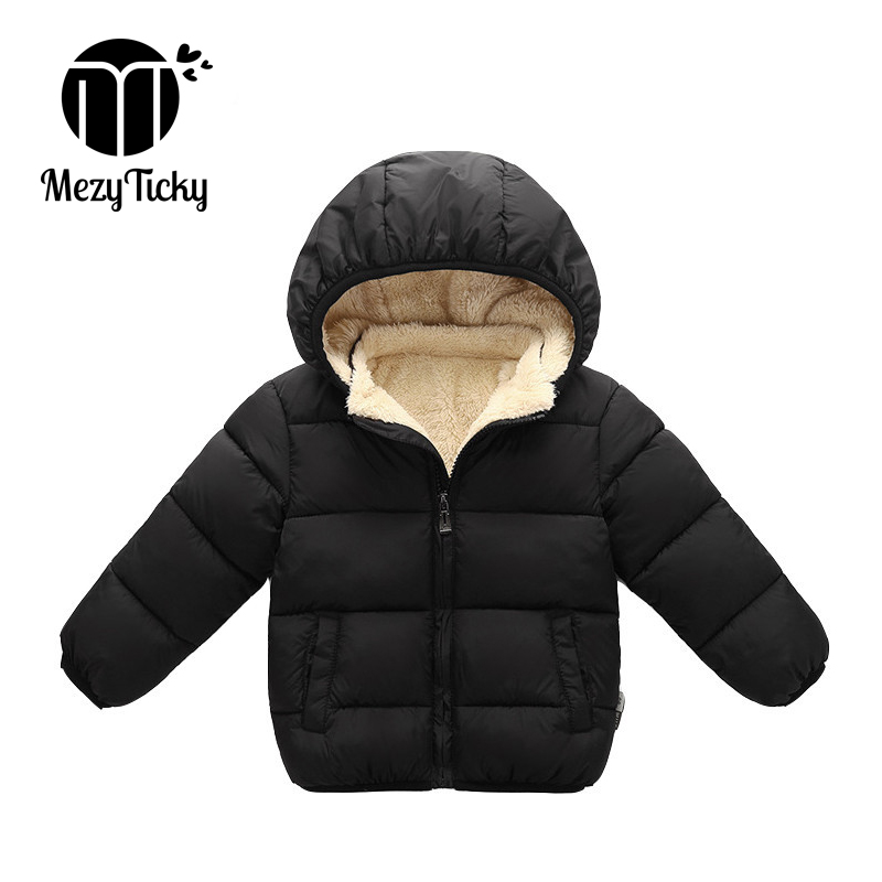 Jacket, Thick, Boys, Kids, Hooded, Coat
