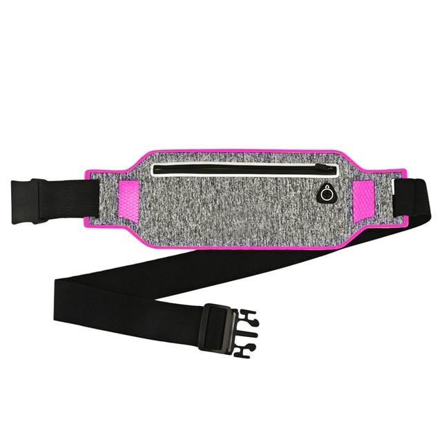 Outdoor Running Waist Bag Waterproof Mobile Phone Holder Jogging Belt Belly Bag Women Gym Fitness Bag Lady Sport Accessories 3