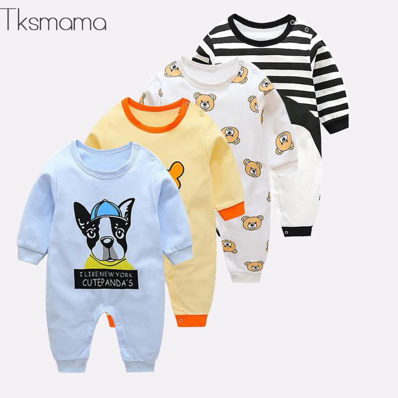 2019 Newborn Baby Jumpsuit Baby Winter Clothes Infant Baby Boy Clothing   Rompers   Costume ZJS00015