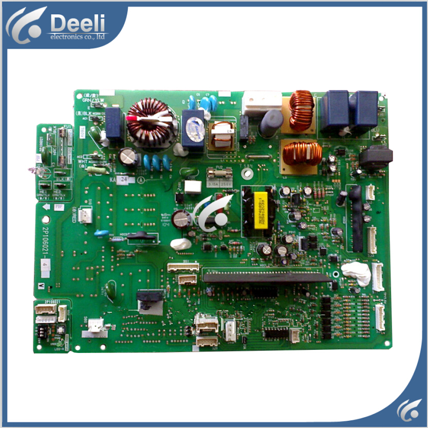 цена на 95% new good working 100% new for inverter air conditioner RXD71DMV2C P 2P106021-4 outside the machine computer board