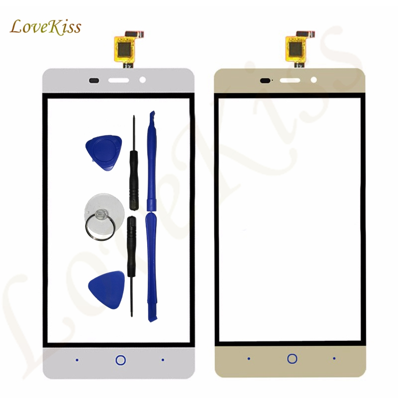 Lovekiss Front Touch Panel For ZTE Blade X3 D2 T620 A452 Touch Screen Digitizer Sensor LCD Display Outer Glass Lens Replacement