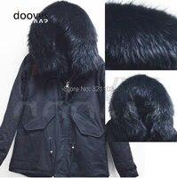 새로운 패션 따뜻한 여성 슬림 모피 칼라 코튼 재킷 모피 칼라 파카 겨울 코트 공장