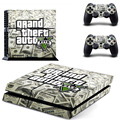 Grand Theft Auto V GTA 5 PS4 Skin Sticker Decal Vinyl For Sony PS4 PlayStation 4 Console and 2 Controllers Stickers