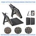 3-В-1 Стилус + Пленка + Клавиатура для Prestigio MultiPad PMT5887 8 дюймов Tablet Micro USB Клавиатура Чехол