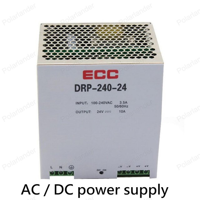 power supply AC/DC 24V 10A dual output power supply rail unit ac dc converter variable voltage regulator Lighting Transformers
