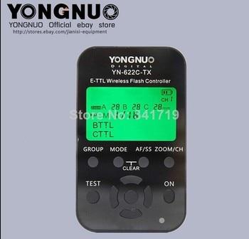 HSS TTL flash trigger YN622C-tx for Canon 1100D 1000D 650D 600D 550D 500D 450D 400D 5DIII 5DII 1DX 1DsIII 1DIV 7D 60D 50D 40D - discount item  28% OFF Camera & Photo