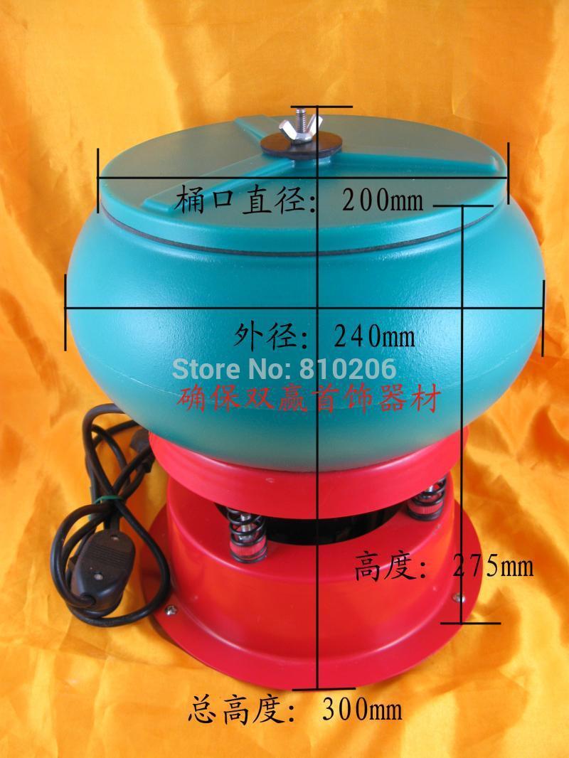 220V vibratory polishing machine with capacity 3kg dc steel tube motor xc38ms64 dc12v24v permanent magnet high speed motor speed adjustable miniature high power motor cw ccw