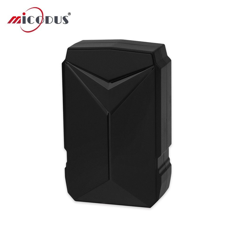 Car GPS Tracker Waterproof 6000mAh Battery Powerful Magnet Voice Monitor GSM Locator LBS Tracking Device D1 180 Days Standby
