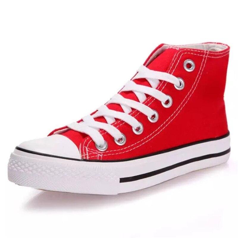 2018 sapatas de lona dos homens novos patins de alta-top dos homens sapatos leves respiráveis casal meninos e meninas sapatos sapatos de Lazer da moda