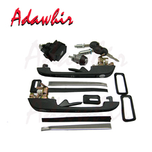 цены 191898081 898260001 VW GOLF MK2 COMPLETE LOCK KIT SET DOOR HANDLES TAILGATE DOORS IGNITION WITH 2 SAME KEYS
