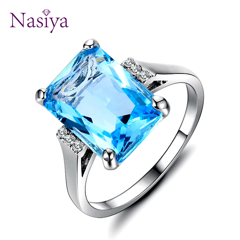 Fine Silver 925 Jewelry Top Brand Luxury Sterling Silver Rings For Women 2018 Finger Ring New Accessories Party Wedding Gifts