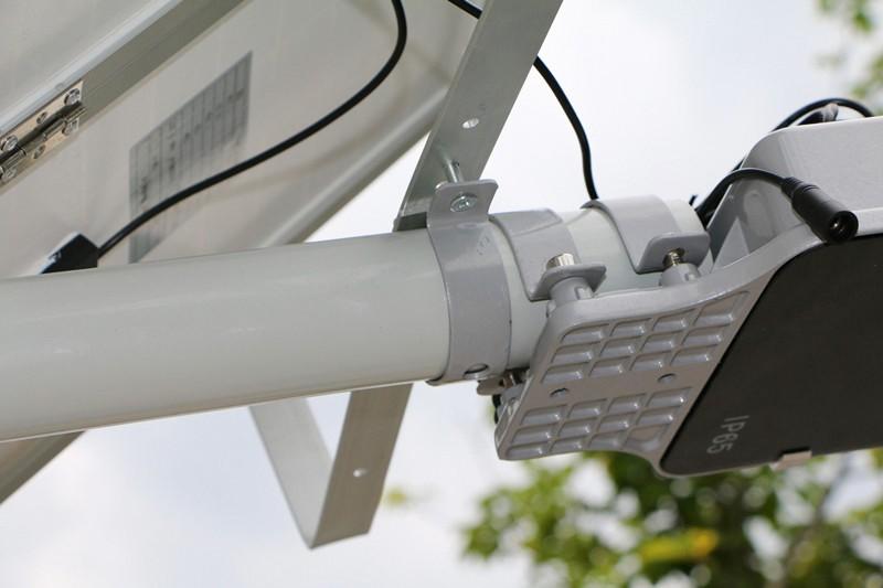 Super Brightness Solar panel 30W Street Light 30pc LED Integrated Solar Street Light Remote Control Waterproof Outdoor Path Lamp