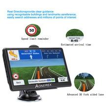Автомобильный gps навигатор автомобильные аксессуары 7 дюймов ЖК-дисплей с двумя камерами, емкостный экран, Navitel FM спутниковый передатчик голос gps навигации с новейшей картой