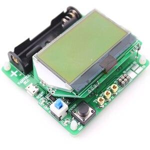 Image 2 - new 3.7V version of inductor capacitor ESR meter Transistor Tester DIY MG328 multifunction test