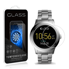 2Pack For Fossil Q Founder Gen 2 Smartwatch 9H 0.3mm Clear Tempered Glass Screen Protector Anti Scratch film For Fossil