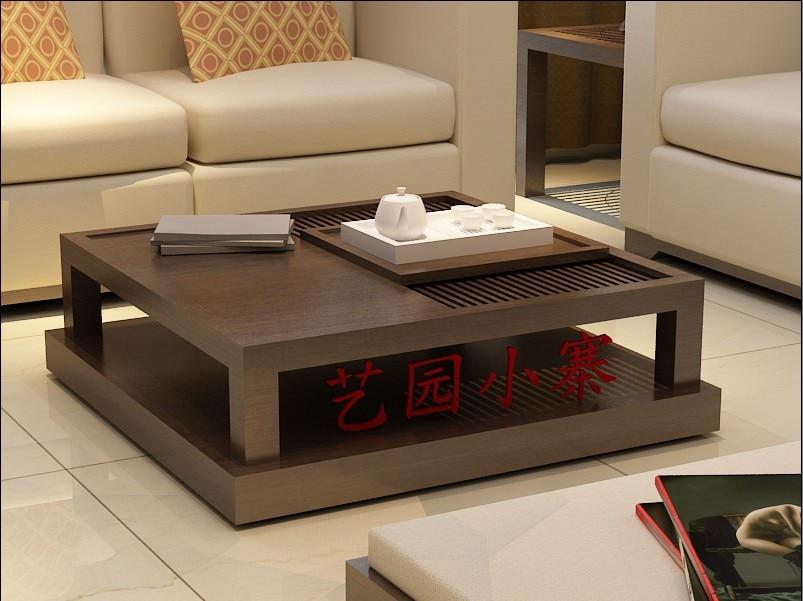 Hacer el viejo muebles de madera r stica sala de estar for Mesas de madera para sala