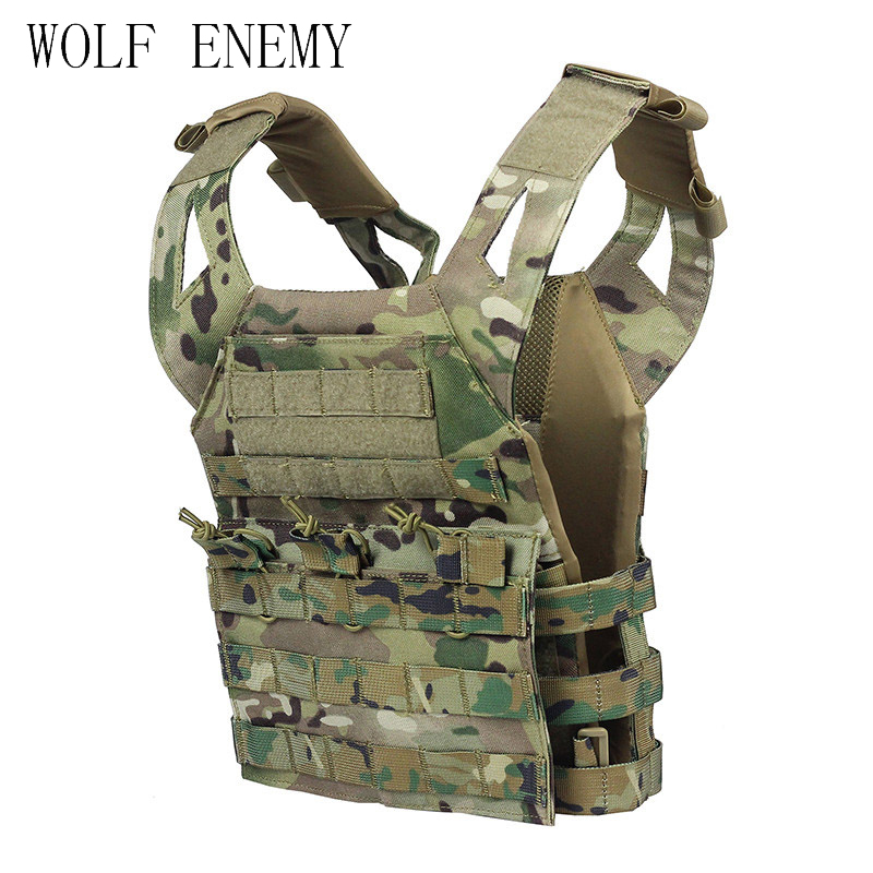 Children Mini 1000D Tactical Military Molle Plate Carrier JPC Vest Safety Protection For Kids Outdoor Activity spanker outdoor airsoft cs game children 1000d nylon molle tactical vest kids paintball shooting safety plate carrier jpc vest