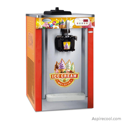 Soft Serve Ice Cream Machine Commercial Ice Cream Equipment Single Flavor Digital Control System Brand New 220V