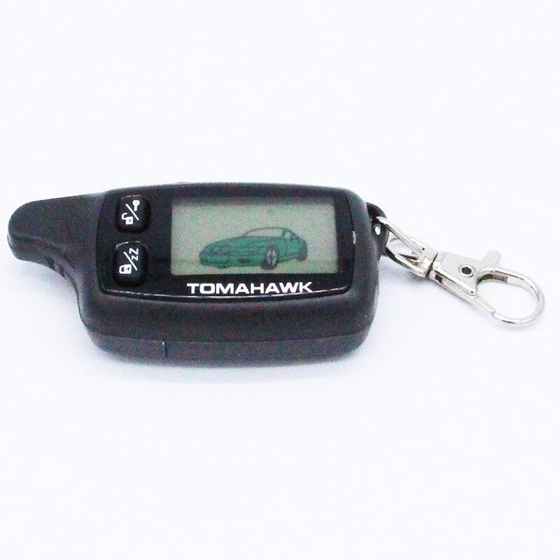 imágenes para NUEVO Envío Libre TW 9030 mando a distancia LCD para Tomahawk TW9030 Tomahawk coche sistema de alarma