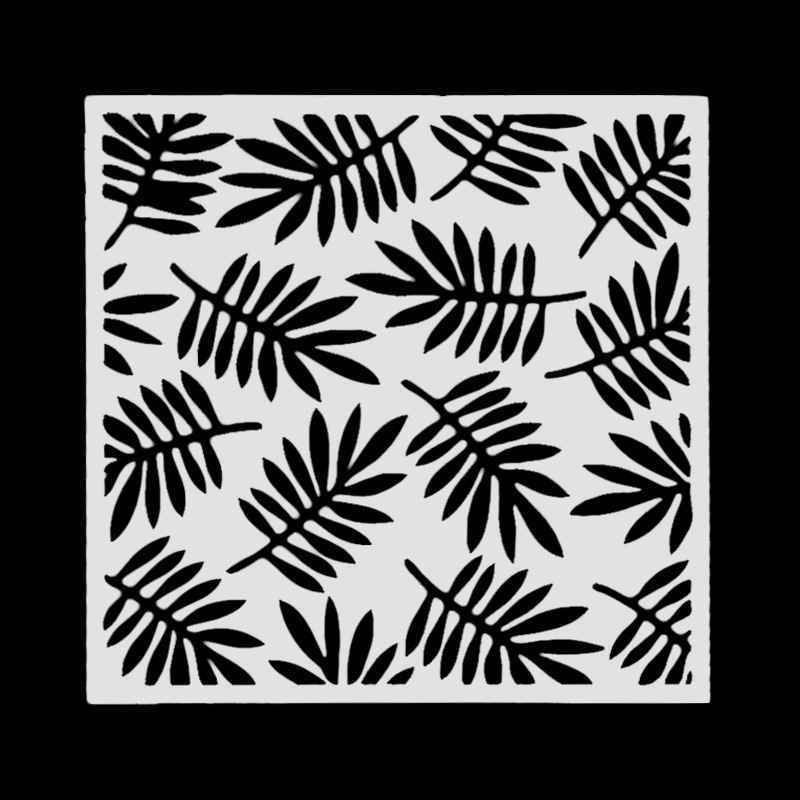 Leaves Pvc Layering Stencils For DIY Scrapbooking/photo Album Decorative Embossing DIY Paper Cards Crafts