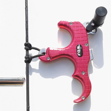 Cheap price 3 Finger Aluminum Release Aid Automatic Archery Caliper Release for Compound Bow and Arrow Release 360 Degree Rotating and Brass