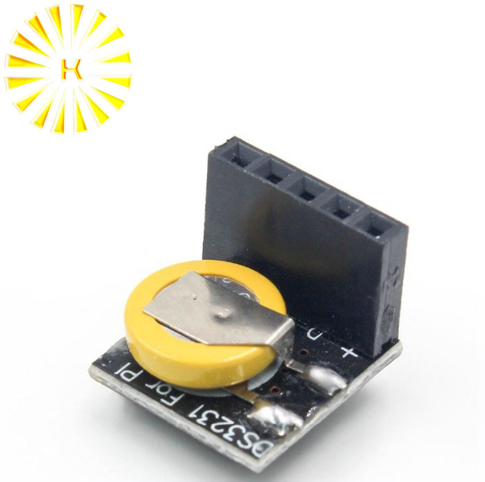 Precisione DS3231 Modulo Orologio in Tempo Reale RTC DS3231 3.3 V/5 V con Batteria per Raspberry Pi