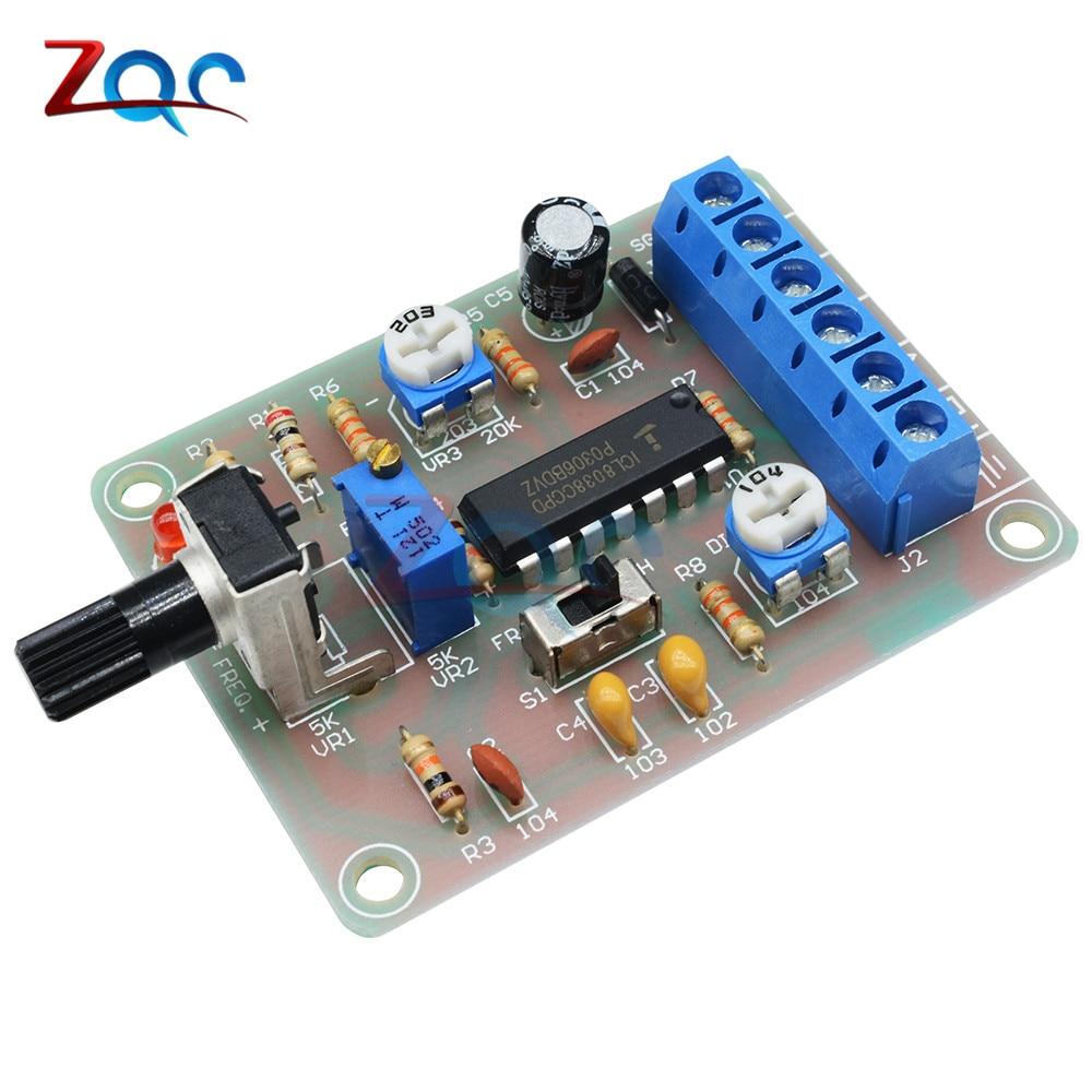 ICL8038 Monolithic Function Signal Generator Module DIY Kit Sine Square Triangle 20pf 105 1uf 50v 18valuesx10pcs 180pcs mono monolithic capacitors monolithic ceramic capacitor assortment kit