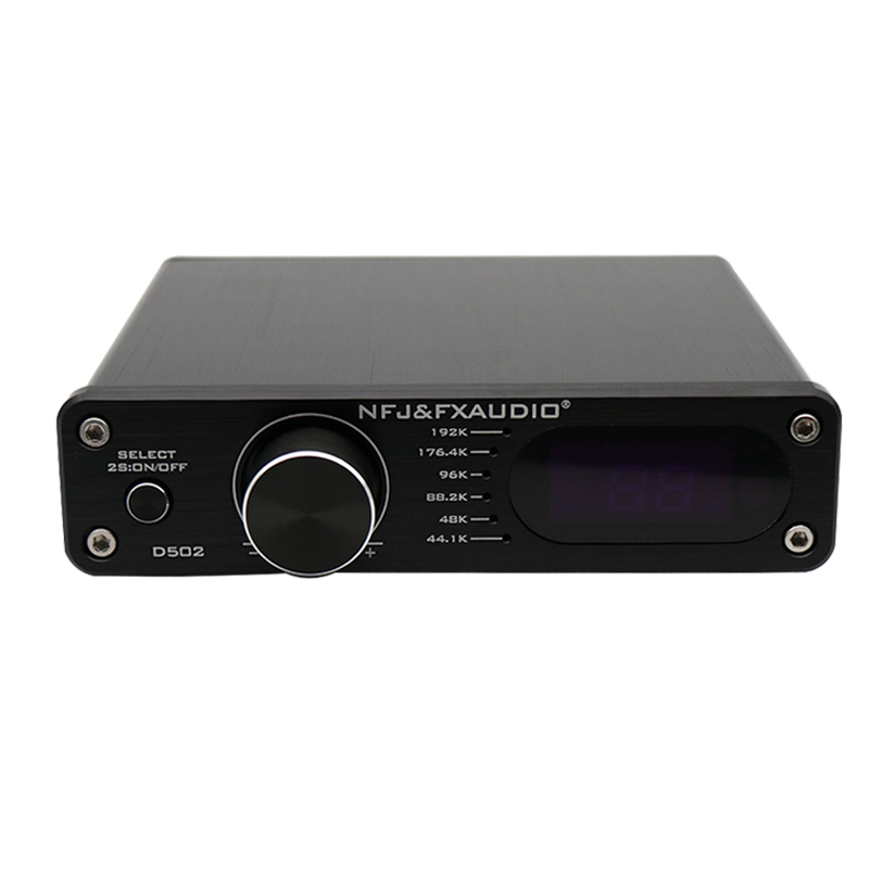 FX-Audio New D502 Digital Audio Power Amplifier 2.1 Subwoofer Hifi Decoding Power Amplifier 60W+60W Remote ControllerFX-Audio New D502 Digital Audio Power Amplifier 2.1 Subwoofer Hifi Decoding Power Amplifier 60W+60W Remote Controller