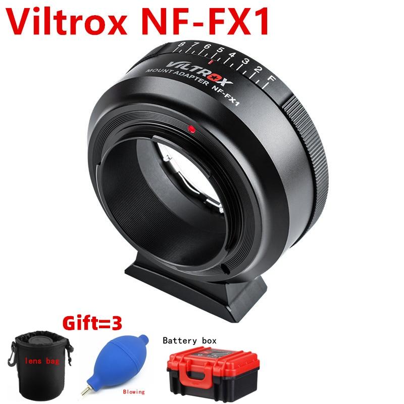 Viltrox for Nikon F AF S AI G Lens to Fuji camera NF FX1 XT1 XT2