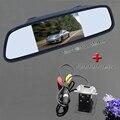 """2 in1 Carro HD 4.3 """"espelho monitor & CCD câmera retrovisor backup câmera mirro para Mitsubishi Outland carro sistema de assistência de estacionamento"""