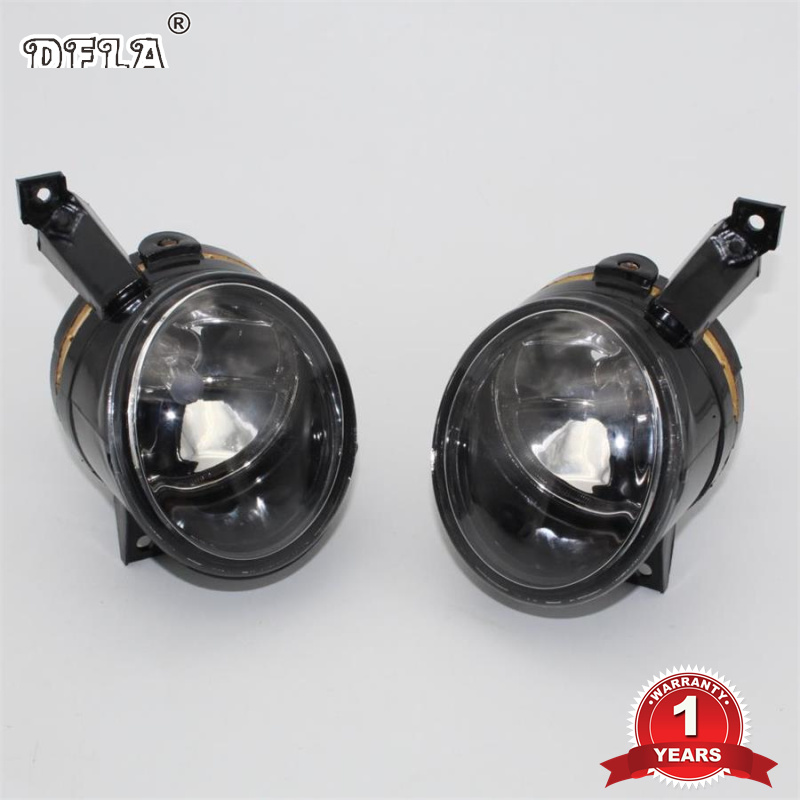DFLA Car Light Car-Styling For VW Polo Vento Sedan Saloon 2011 2012 2013 2014 2015 2016 Halogen Fog Light Fog Lamp right side for vw polo vento derby 2014 2015 2016 2017 front halogen fog light fog lamp assembly two holes