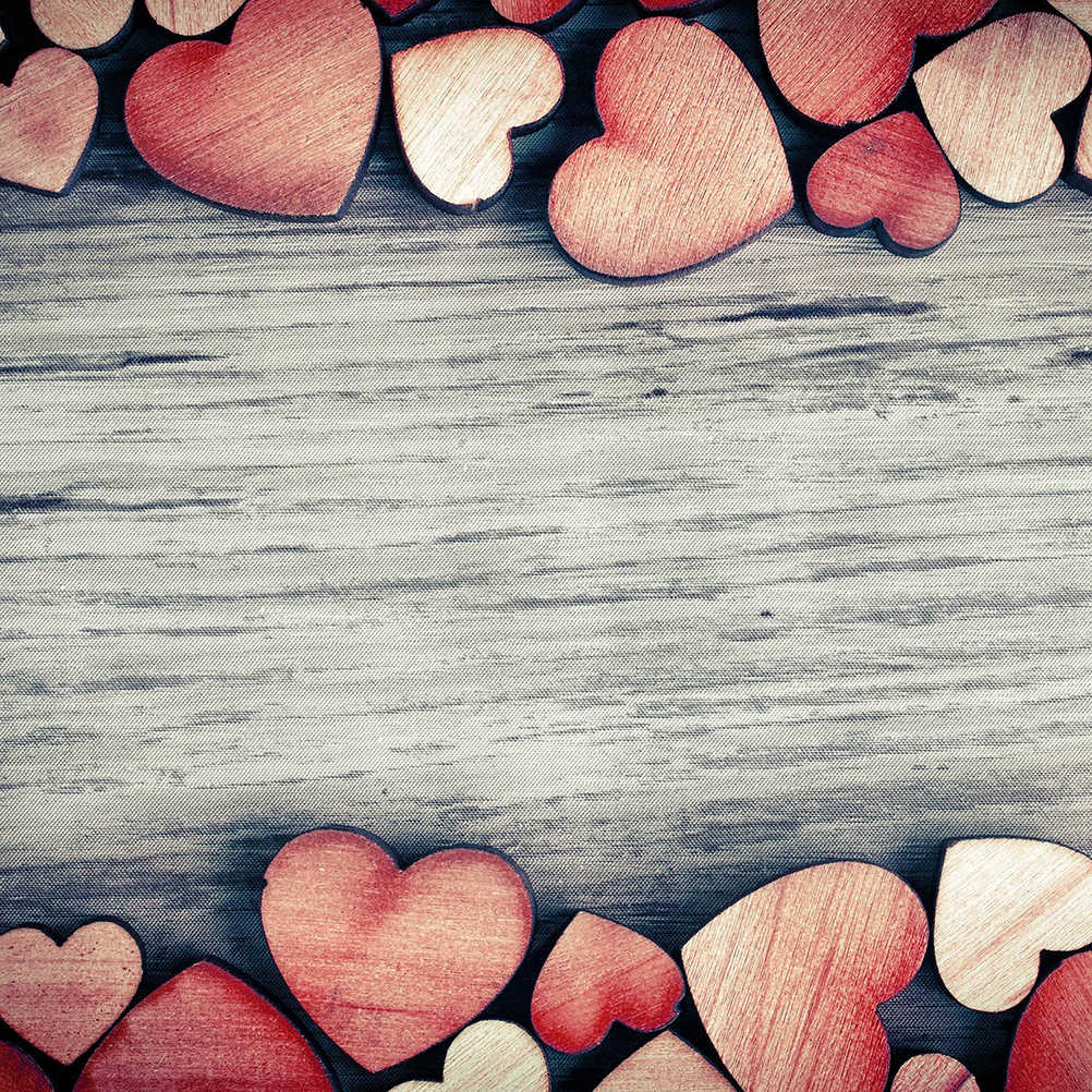 Шт. 200 шт. Деревянный Сердце Конфетти Для ремесла Свадебная вечеринка пользу Baby Shower Декор DIY стол DIY ремесла Рождество украшения